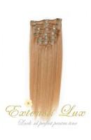 Extensii par Clip-on Blond Aluna #12 din par 100% natural