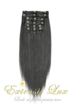 Extensii DeLuxe Clip On Black Collection #1B