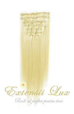 Extensii DeLuxe Clip On Black Collection #60