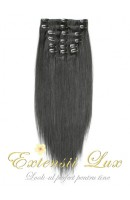 DeLuxe Clip-on Negru Natural #1B