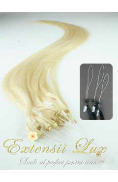 Microring DeLuxe Blond Platinat #613