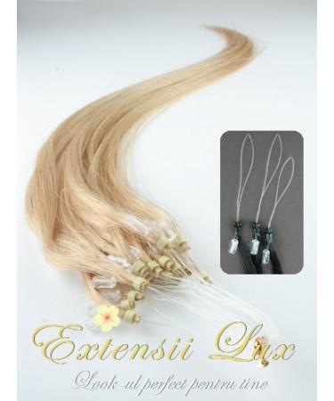 Extensii par microring Blond Miere #24